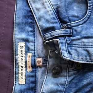 French connection denim pants.